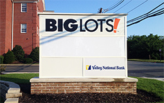 Big Lots! - monument signs