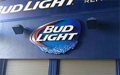 Budlight Bud light - Stadium Signs
