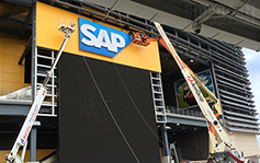 Metlife Stadium - SAP Sign - Reader boards