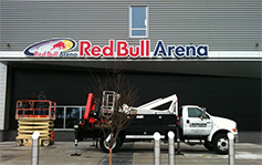 Red Bull Arena - Stadium Signs