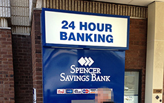 Spencer Savings Bank - ATM Surrounds