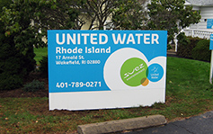 United Water - Monument Sign